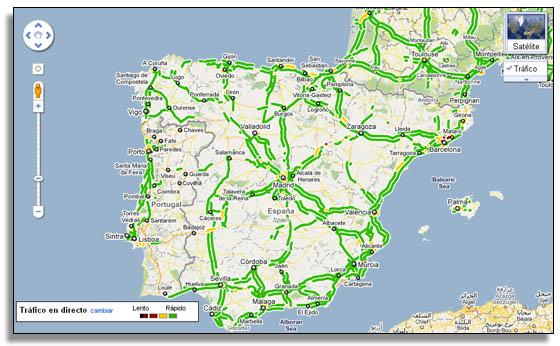 Google Maps Ofrece Ya Informacion Del Trafico En Tiempo Real En