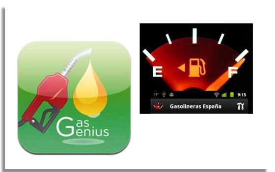 El cálculo del gasto de la gasolina en el coche