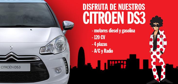 Te presentamos los exclusivos y divertidos citro n ds3 for Oficinas pepecar barcelona
