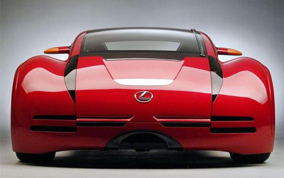 Lexus Minority Report