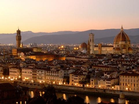 Florencia desde el mirador