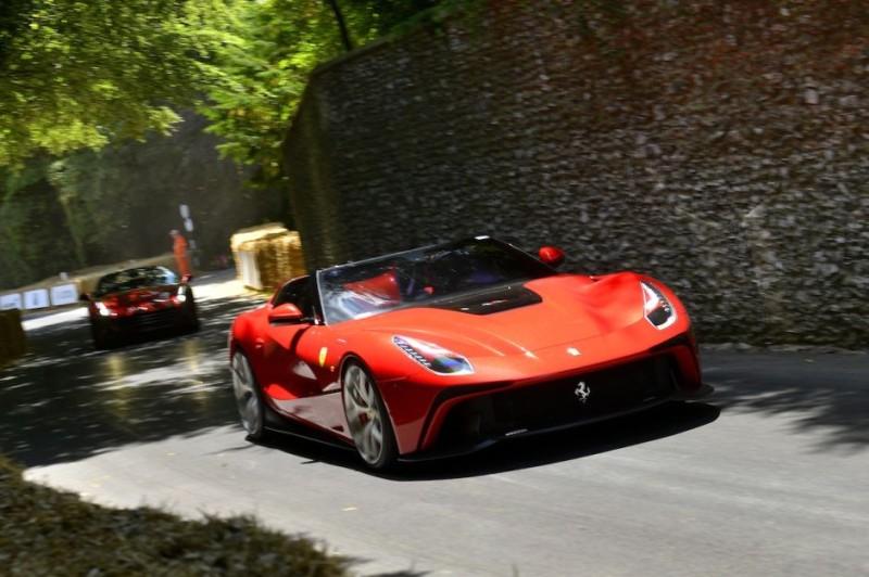 El nuevo Ferrari en GoodWood