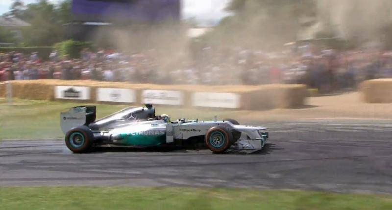 Lewis Hamilton y su F1