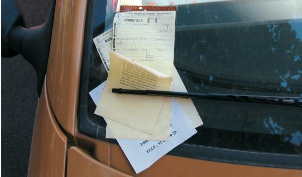 recurrir una multa de tráfico