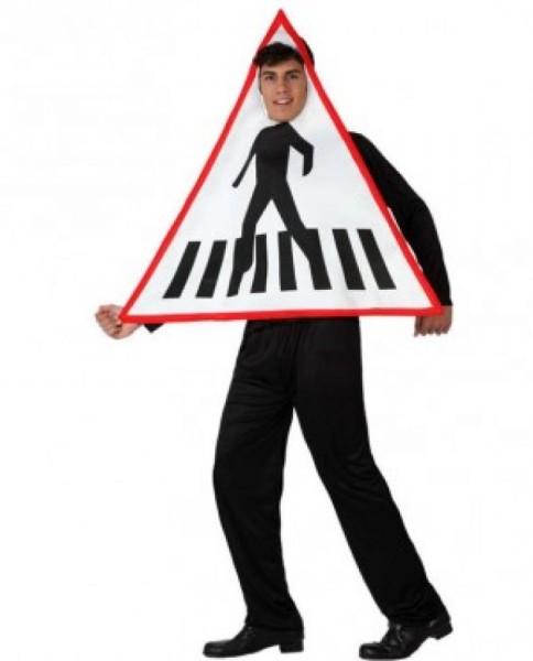 disfraz señal tráfico