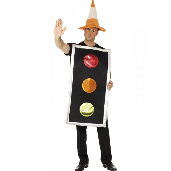 disfraz carnaval semáforo