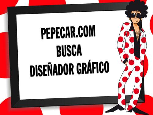 PEPECAR.COM BUSCA DISEÑADOR GRÁFICO
