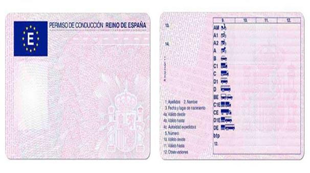 permiso de conduccion pepecar
