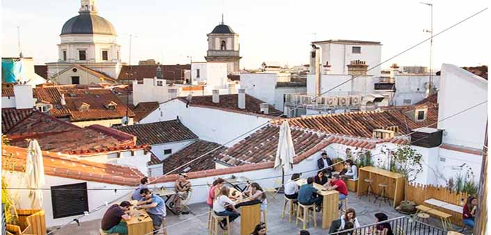 terraza the hat en madrid