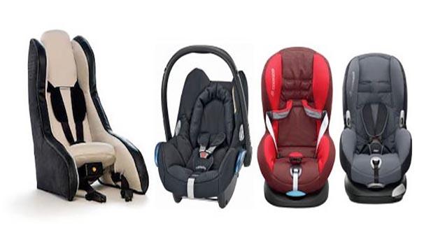 sillas de coches para niños