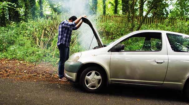 alquiler de coches con pepecar motor arranque - humo