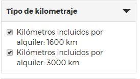 tipo de kilometraje