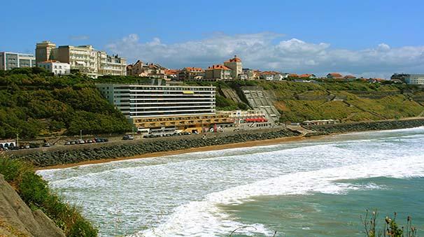 alquiler de coches con pepecar - biarritz playa