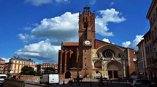 alquiler de coches con pepecar - toulouse catedral