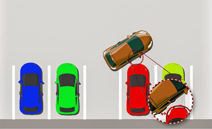 alquiler de coches con pepecar - aparcar atrás