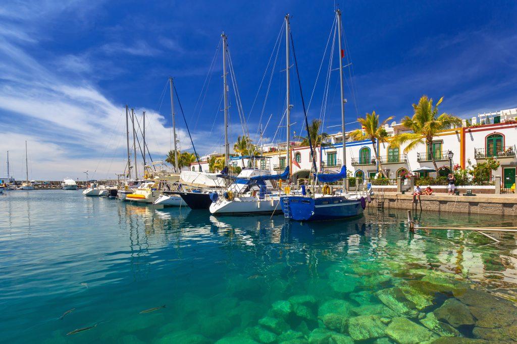 Barcos en Puerto de Mogan