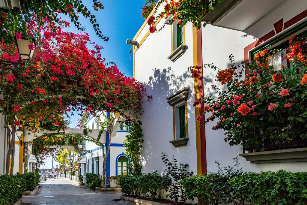 Calles de Puerto de Mogan